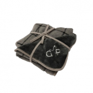 Gor Pets Camden Blanket Grey Checks