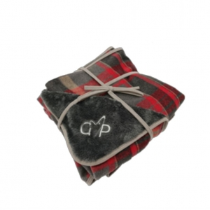 Gor Pets Camden Blanket Red Checks