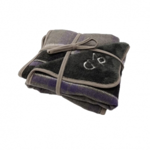 Gor Pets Camden Blanket Purple Checks