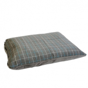 Gor Pets Premium Checkered Comfy Cushion Grey
