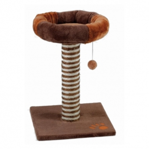 Gor Pets Cushy Cat Scratcher Brown