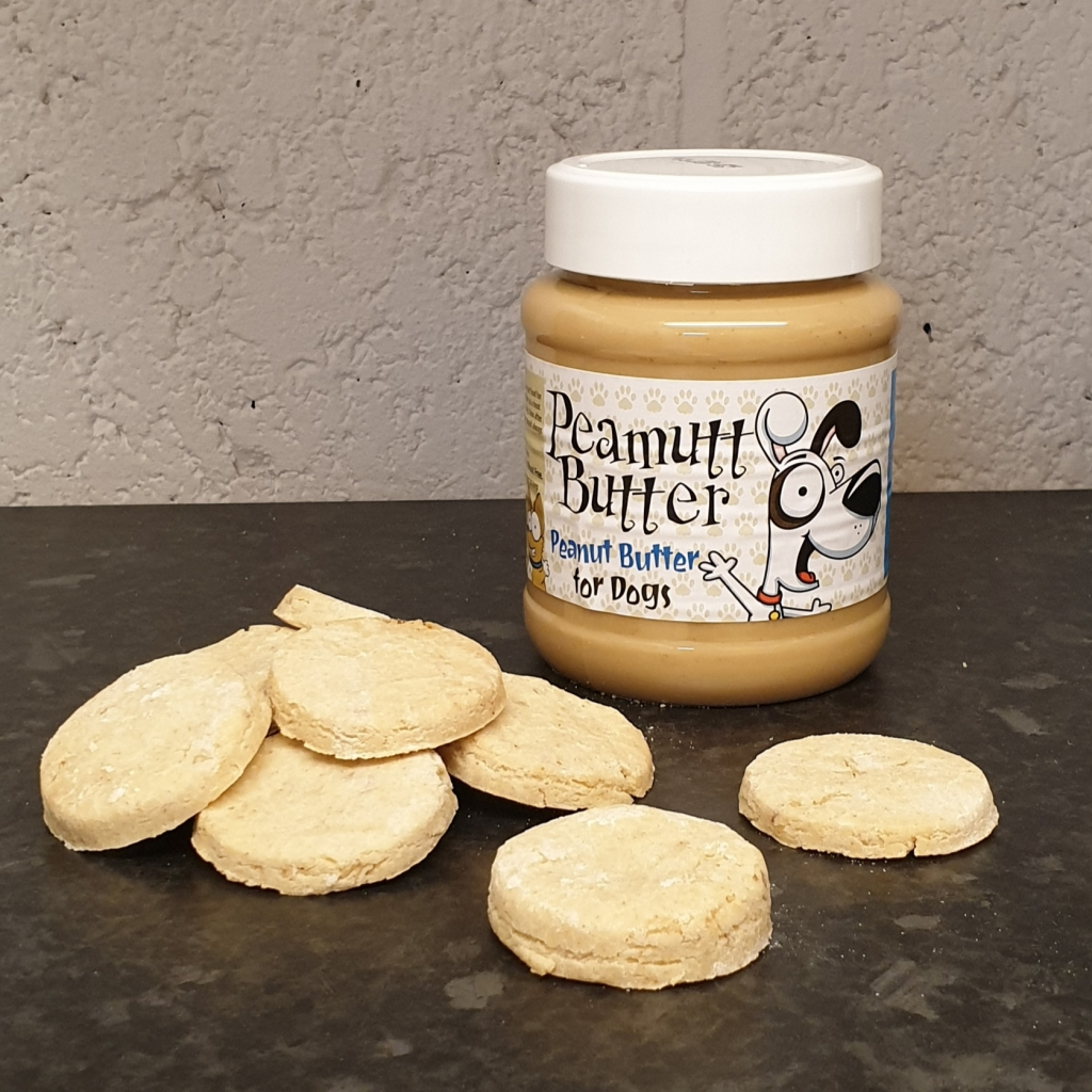 Peamutt Butter Dog Treats
