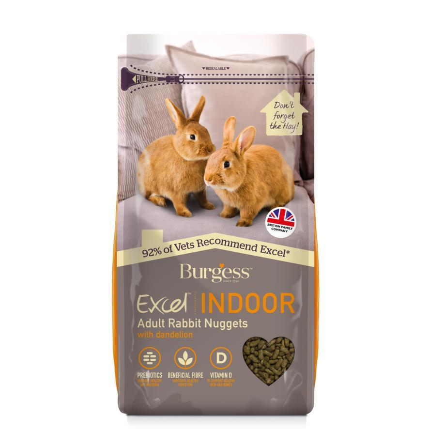 Burgess Excel Indoor Rabbit Nuggets 1.5kg