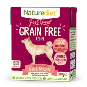 Naturediet Grain Free Salmon 18x390g