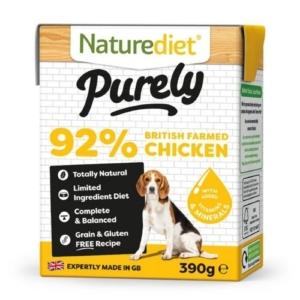 Naturediet Purely Chicken 390g