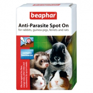 Beaphar Anti Parasite Spot On for Rabbits, Guinea Pigs, Ferrets and Rats