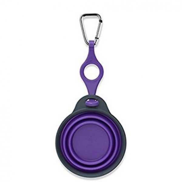 Dexas Travel Cup with Bottle Holder Purple