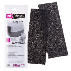 Ferplast Active Carbon Filters 2pk