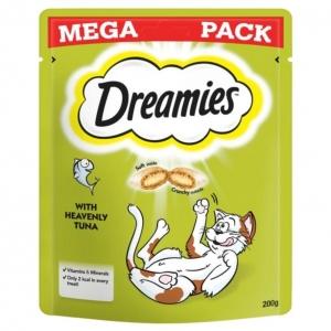 Dreamies Cat Treats with Tuna MEGA PACK 200gm