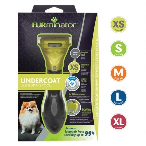 FURminator DeShedding Tool Long Haired Dogs
