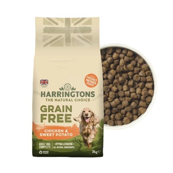 Harringtons Grain Free Chicken with Sweet Potato
