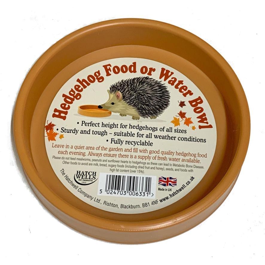 Hatchwells Hedgehog Bowl 13cm x 2.5cm
