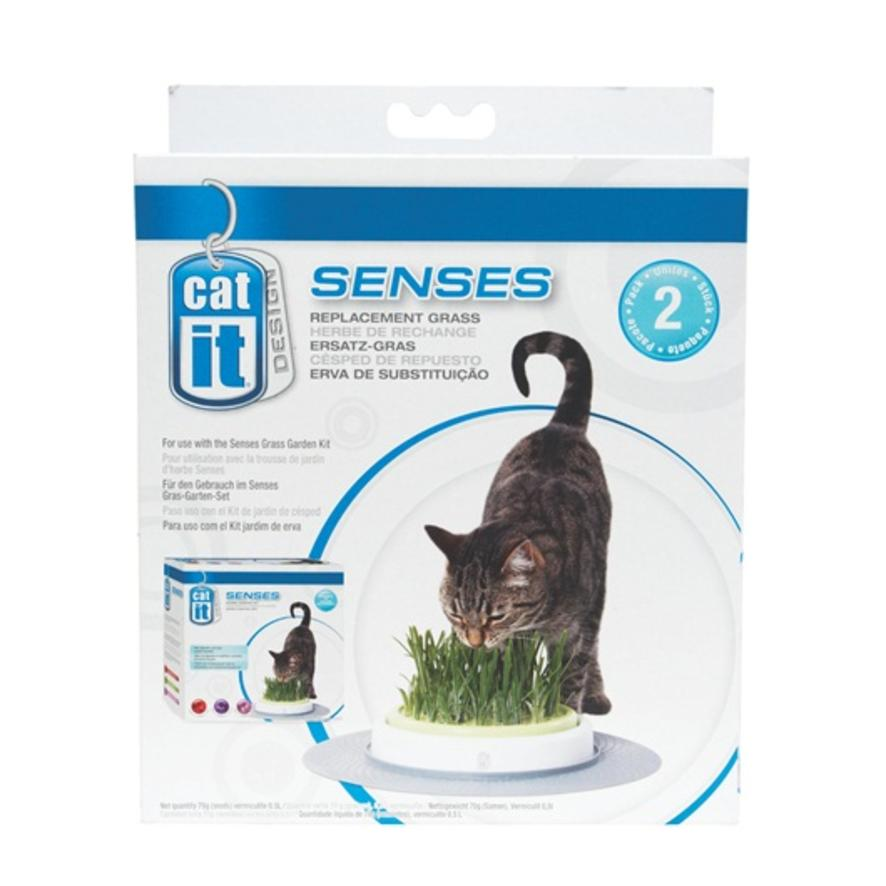 Catit Senses Grass Garden Refill 2pk Purely Pet Supplies Ltd