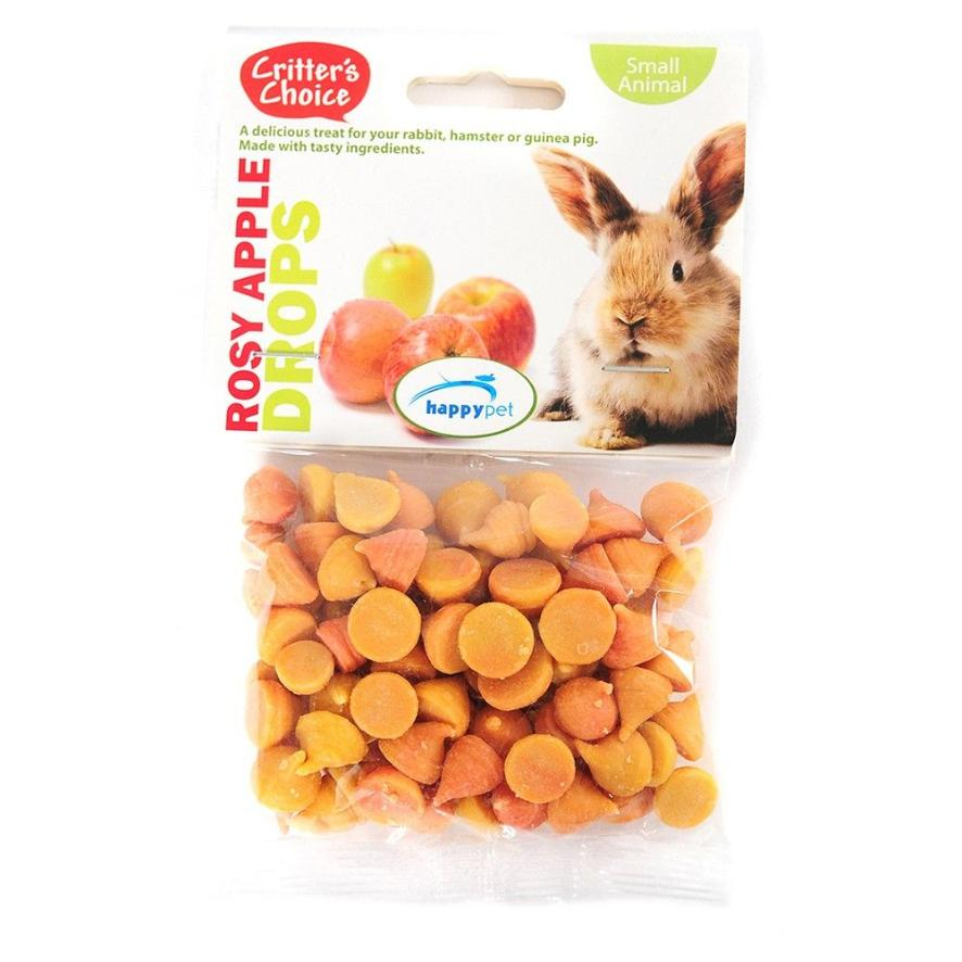 Critters Choice Rosey Apple Drops 75gm