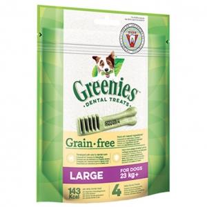 Greenies Grain Free LARGE Dental Treats 170gm
