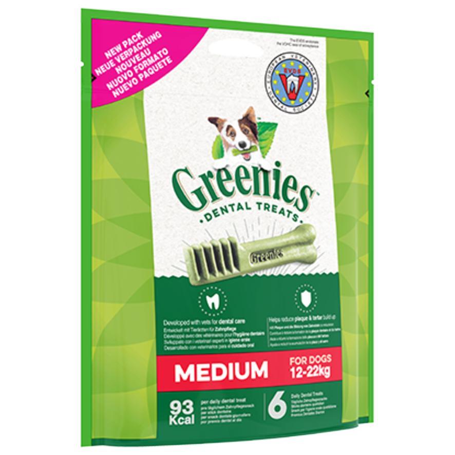 Greenies Dental Treats Medium 12-22kg 12pcs