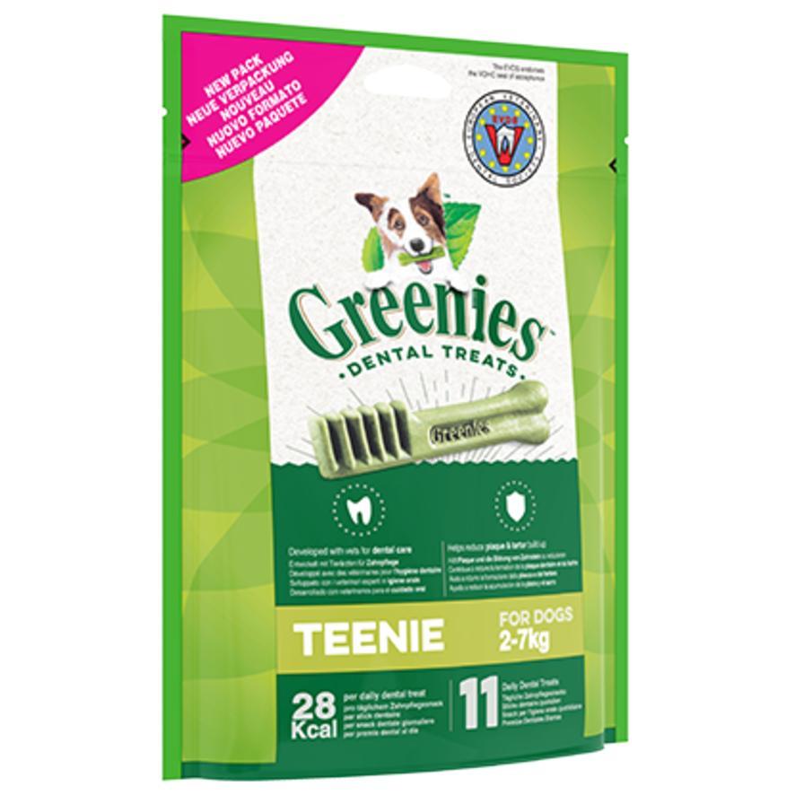 Greenies Dental Treats Teenie 2-7kg 170g