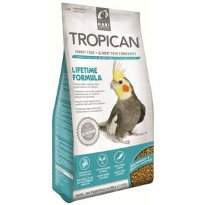 Hari Tropican Parrot Food Lifetime Formula 820g