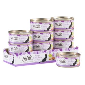 HiLife Natural Luxury Chicken with Duck Tins 12 x 70gm (Grain Free)