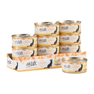 HiLife Natural Luxury Chicken Breast Tins 12 x 70gm (Grain Free)