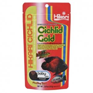 Hikari Cichlid Gold Baby Pellet (Two Sizes)