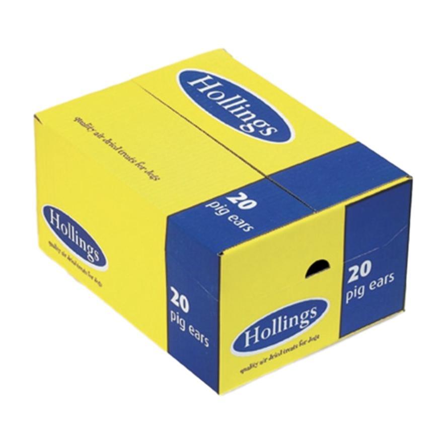 Hollings Pig Ears 20pcs (Boxed)