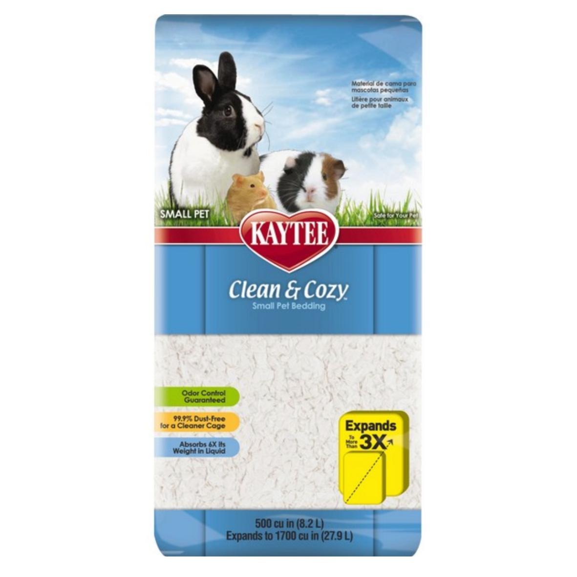 Kaytee Clean & Cozy Bedding White 24.6L