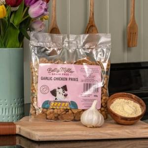 Betty Miller Grain Free Garlic Chicken Paws 400gm