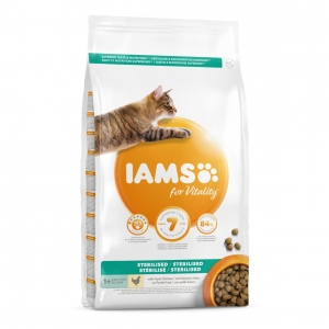 IAMS for Vitality Sterilised Cat with Fresh Chicken