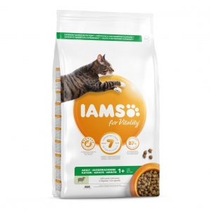 IAMS for Vitality Adult Cat with Lamb