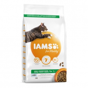 Iams for Vitality Adult Cat with Ocean Fish