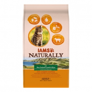 Iams Naturally Cat with New Zealand Lamb and Rice