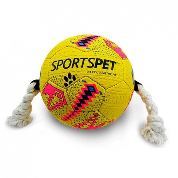 SportsPet Football Pink