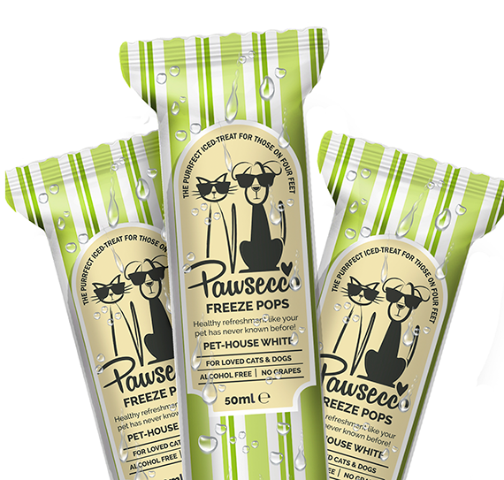 Woof & Brew Pawsecco Freeze Pops
