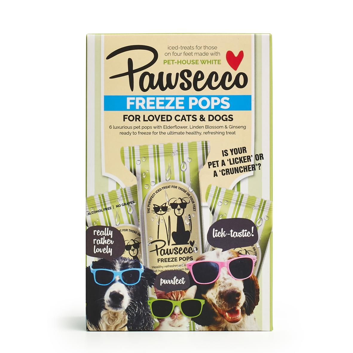 Woof & Brew Pawsecco Freeze Pops 6pk