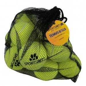 SportsPet Tennis Balls 12-Pack