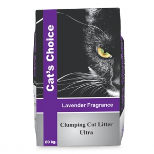 Cats Choice Clumping Litter Ultra - Lavender