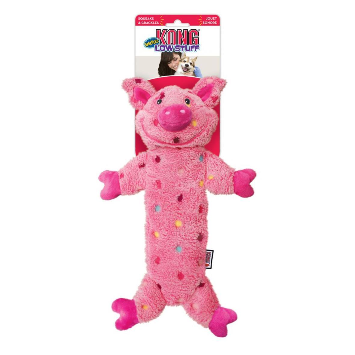 KONG Low Stuff Speckles Pig 40cm