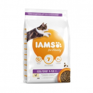 Iams for Vitality Kitten with Fresh Chicken