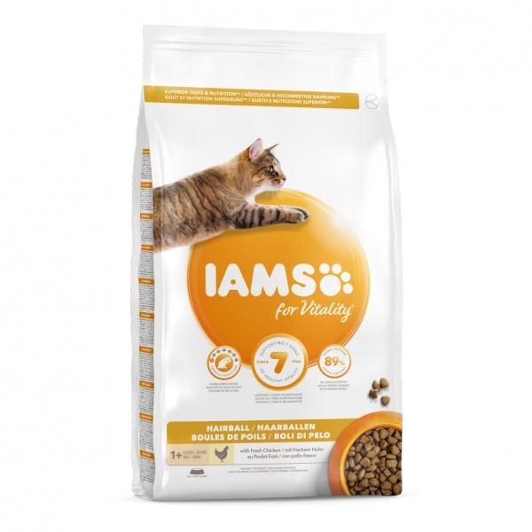 IAMS for Vitality Cat Hairball with Fresh Chicken
