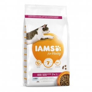 IAMS for Vitality Senior Cat with Ocean Fish
