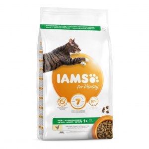 IAMS for Vitality Adult Cat with Fresh Chicken (Three Sizes)