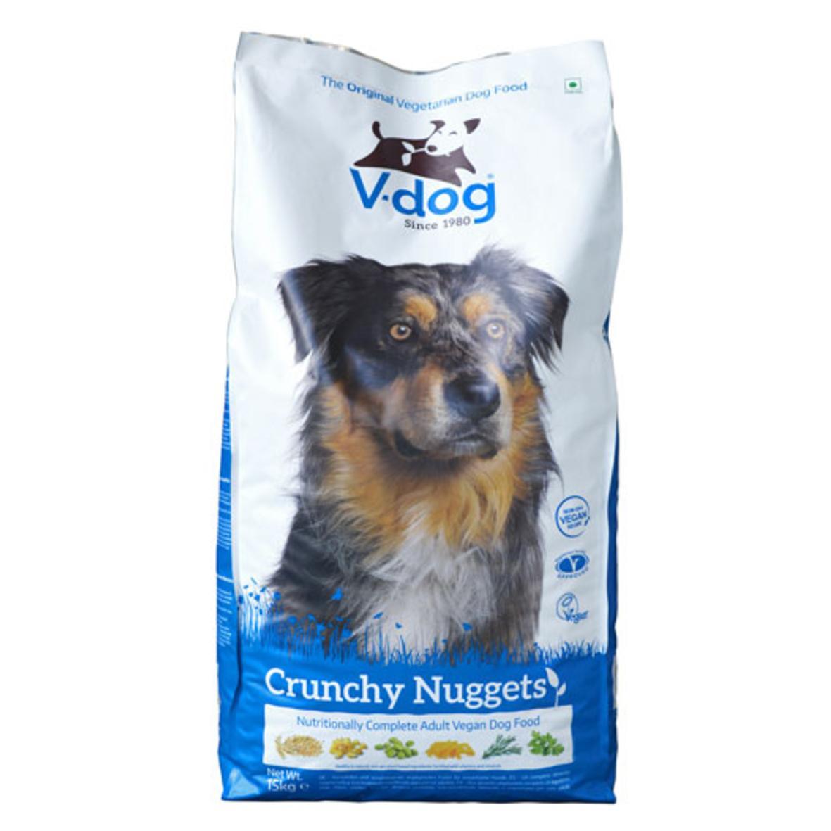 V Dog Crunchy Nuggets 15kg (Vegan)