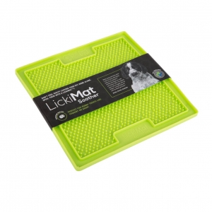 LickiMat SOOTHER Treat Mat Green