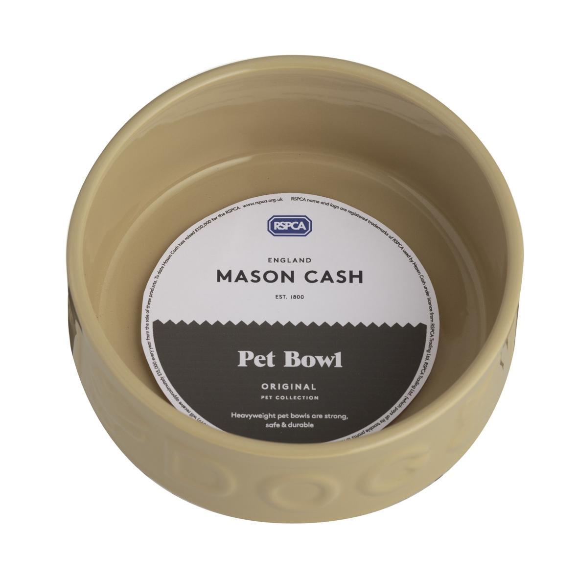 Mason Cash Lettered Dog Bowl