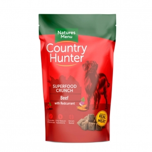 Natures Menu Country Hunter Superfood Crunch Beef 1.2kg