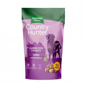 Natures Menu Country Hunter Superfood Crunch Turkey 1.2kg