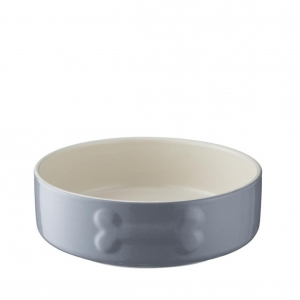 Mason Cash Colour Mix Dog Bowl Grey