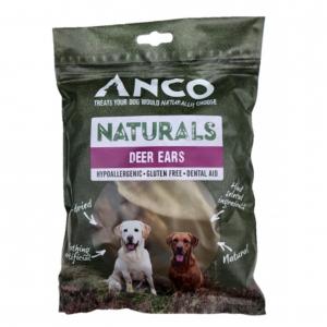 Anco Naturals Deer Ears 5pcs