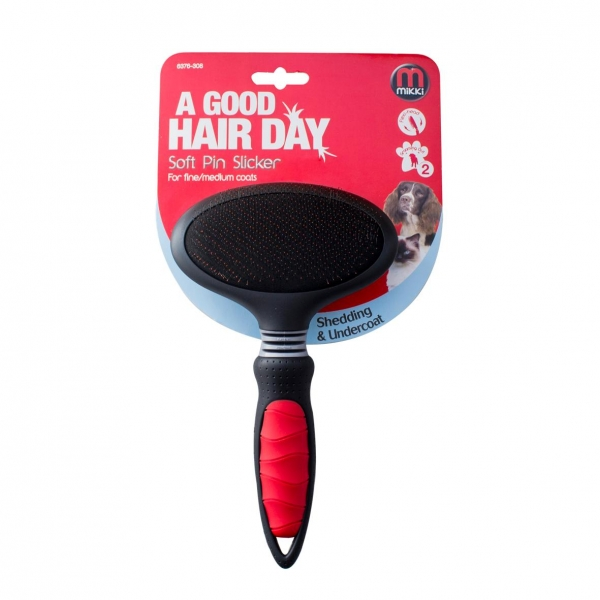 Mikki Soft Pin Slicker Brush XL